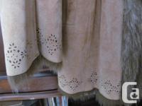 -db Studio coat size medium -100% genuine leather