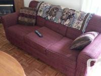 LOTS OF FURNITURE FOR SALE... LEATHER COUCH WITH