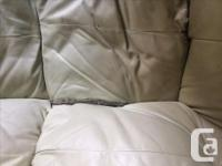 Free Leather couch in used condition. Pleases note the