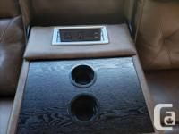 Power theater seating with heat & massage & USB