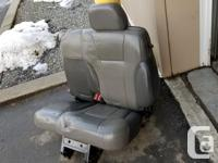 Set of leather seats out of an S10. Both front seats