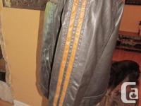 Mens striped bomber jacket. The Original Arizona Jean