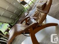 "- Perfect Chair ""PC-500 Silhouette"" Premium Full Grain"
