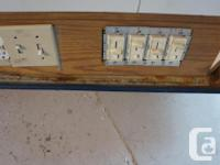 LED CUSTOM MADE PHOTOGRAPHY LIGHT BOX DIMMER SWITCHES