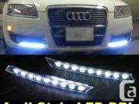 Audi Style High Power White 9-LED Daytime Running Light