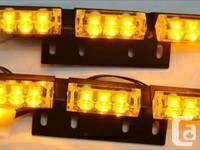 18 LED Emergency Deck Dash Grille Light  LED Bar Panel