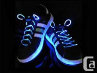 GadgetPlus. ca. .  Item: LED Illumination Shoelaces
