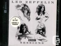 Led Zeppelin BBC Sessions double CD. 1997 Atlantic