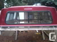 From 95 F150, Leer Knight canopy 7 ft long by 6 ft