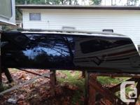 Colour black Leer truck canopy. Fits 2003 Chev S10 4 x