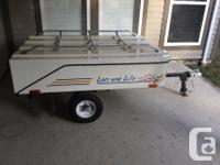 Excellent condition tent trailer. One owner , bought