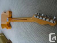 Dead Mint 2005 Fender Left Handed UNITED STATE made 52