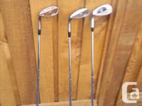 The iron set is a high end Titleis762 DCI 3I-PW.. These