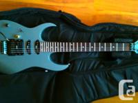 Left-handed Ibanez Electric guitar with brand-new soft for sale  British Columbia