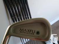 Great shape Left Handed no Putter Newer Grips 3iron-PW
