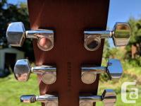 Simon & Patrick Woodland 6 Cedar Acoustic Guitar.