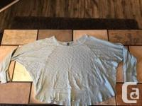 Left of Centre Women�s Long Sleeve Top For Sale - Like