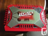 Legacy LA970 1200watt amp ( 2x600) Fully adjustable