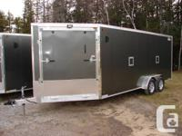 We are selling a brand new 2014 all aluminum enclosed