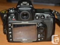 This is the legendary Nikon D700 FX (full frame) 12.1 for sale  British Columbia