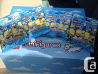 I have a bunch of extra LEGO MINI FIGS for sale.  The