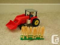 A best-lock brand (similar to Lego) farm set in quite
