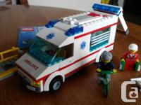 Made use of Lego City Rescue 4431set. Includes