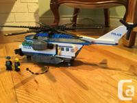 This is LEGO City set #60046 - Police Helicopter. This