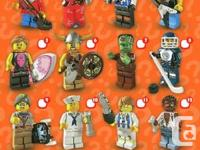 I have the following extra Lego collectible minifigures