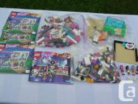 For sale two sets of Lego Friends # 41135 & # 41104.