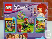 Lego Friends Adventure Camp Archery. #41120 114 pieces.
