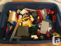 This is a large tub of genuine LEGO - all different