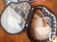 Good used condition, can hold up to 200 bricks, with