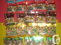 LEGO Mini figurines/minifigs Collection: 4, 5,7, 8 10,