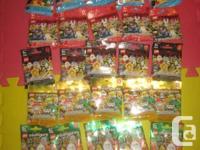 LEGO Mini figurines/minifigs Series:  4, 5,7, 8 10, 11