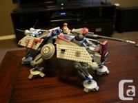 Set #7675 from the Lego Star Wars series, AT-TE