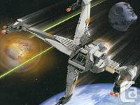 Individual Pricing:  Lego Set # 6208 B-Wing Fighter -