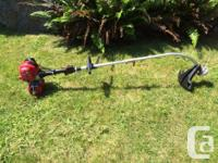 Line trimmer by Lehr,25cc Propane Powered 4-Stroke