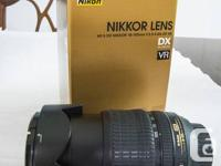 First is a Nikon 18-105 f3.5-5.6, asking $ 150.00 (link