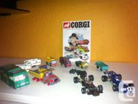 Selling my collection of Lesney cars and Corgi all made