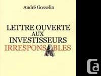 Catégorie:. Gestion Et �conomie. Auteur:. Andre