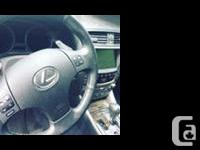 Make Lexus Model IS 350 Year 2009 Colour Silver kms