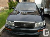 1992 Lexus LS400  200Km Sports Rims  Excellent