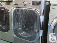 LG 6.1 CU. FT. Washer , 9+ cu ft  dryer. Brand new set.