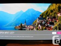 Selling an LG 55 inch E6P passive 3D OLED HDR 4K SMART