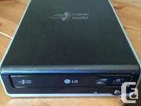 LG External Super Mulit DVD Rewriter --- TYPE --- >>