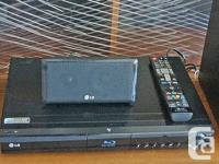 Plays many different media. CD, Blue Ray, USB, I POD