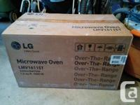 I have an LG Over the Range Microwave Ovens for sale.
