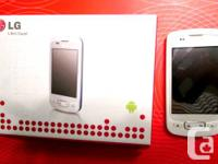 Cell phone LG-P500h White, Android 2.2 featuring,