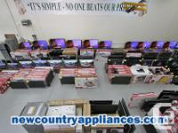 New Country Appliances Most of our products come from